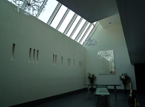 神戸市内のイベントホール塗装工事