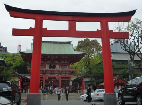 神戸市内 神社鳥居