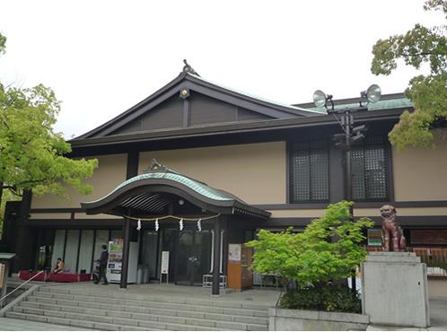 神戸市の神社の社務所